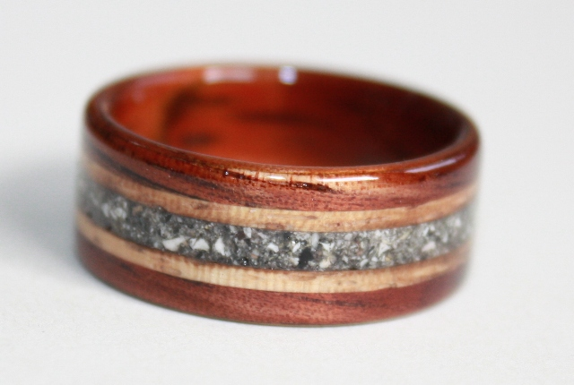 Touch Wood Memorial Rings